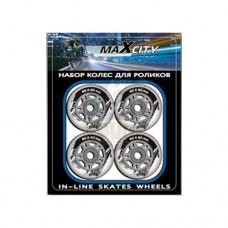 Колеса для роликовых коньков Maxcity 72*24 мм (без подшипников)