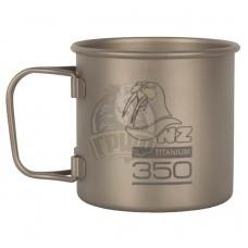Кружка титановая NZ Titanium Cup 350 мл