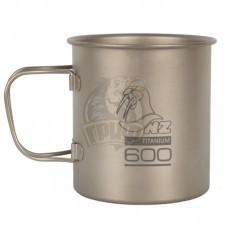 Кружка титановая NZ Titanium Cup 600 мл