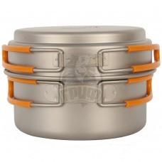 Кастрюля титановая NZ Titanium Cookware 800 мл