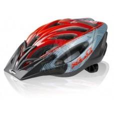 Велошлем XLC Comp Mt.Kenia (серо-красный)