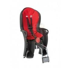 Детское велокресло Hamax Sleepy (черный/красный)