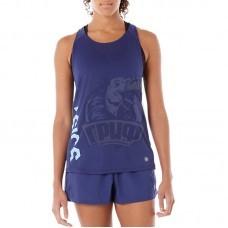 Майка спортивная женская Asics Layering Tank Top (синий)
