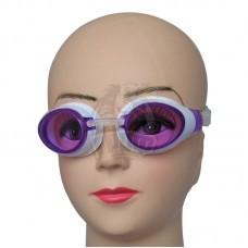 Очки для плавания подростковые Dobest (белый/розовый)