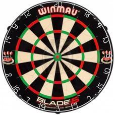 Дартс профессиональный Winmau Blade 5 (сизалевая мишень)