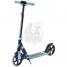 Самокат 2-х колесный Ridex Adept (голубой/черный)
