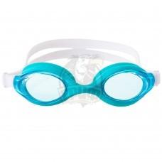 Очки для плавания подростковые Longsail Motion (бирюзовый/белый)