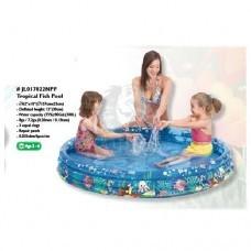 Бассейн для малышей надувной Jilong Tropical Fish Pool (300 л)