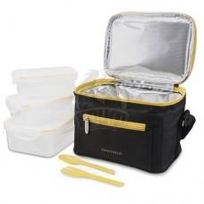 Сумка-холодильник Арктика с контейнерами (черный)