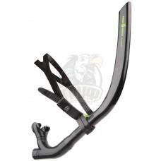 Тренажер дыхательный Mad Wave Pro Snorkel (черный)