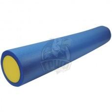 Ролик для йоги и пилатеса Artbell 45х15 см (синий/желтый)