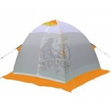 Палатка зимняя Лотос 2 (оранжевый/белый/серый)