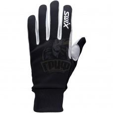 Перчатки лыжные женские Swix Tracx (черный/белый)