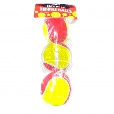 Мячи теннисные (3 мяча в пакете)
