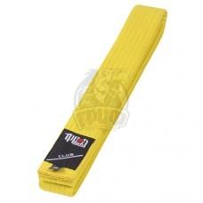 Пояс для единоборств Ippon Gear Club Yellow (48% хлопок / 52% полиэстер)