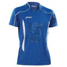 Футболка волейбольная мужская Asics T-Shirt Volo (синий)