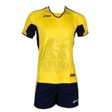 Форма волейбольная мужская Asics Set Nazionale (желтый/синий)