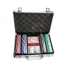 Набор для покера в чемодане на 200 фишек