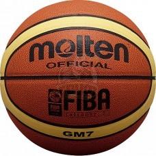 Мяч баскетбольный игровой Molten BGM7 FIBA Indoor/Outdoor №7