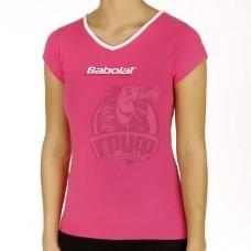 Футболка женская Babolat Training Basic Women (розовый)