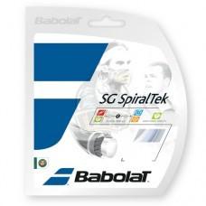 Струна теннисная Babolat SG Spiraltek 1.30/12 м (белый)