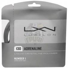 Струна теннисная Luxilon Adrenaline 1.30/12.2 м (серебристый)