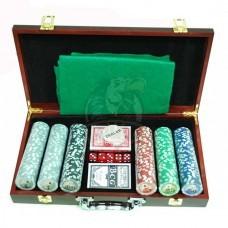 Набор для покера в чемодане сувенирный на 300 фишек
