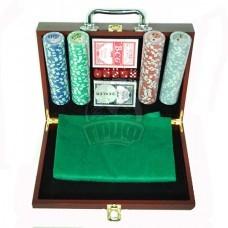 Набор для покера в чемодане сувенирный на 200 фишек