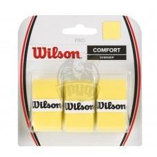Обмотка для теннисной ракетки Wilson Pro Overgrip (желтый)