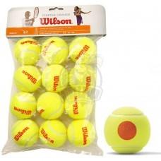 Мячи теннисные Wilson Starter Orange Tball (12 мячей в пакете)