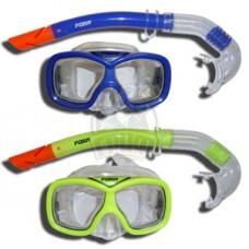 Набор для плавания подростковый Fora (маска + трубка)