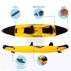 Каяк-байдарка надувной двухместный Jilong Pathfinder II
