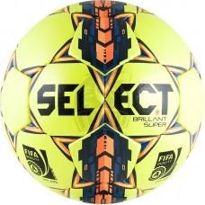 Мяч футбольный профессиональный Seleсt Brillant Super FIFA Yellow №5