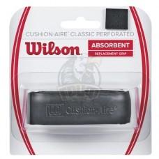 Обмотка базовая для теннисной ракетки Wilson Cushion-Aire Classic Perforated (черный)