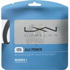 Струна теннисная Luxilon Alu Power Silver 1.25/12.2 м (серебристый)