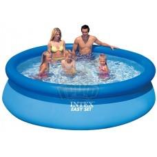 Бассейн семейный надувной 244x76 см Intex Easy Set (2419 л)
