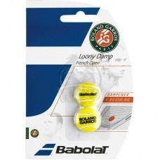 Виброгаситель Babolat Loony Damp French Open x2 (желтый)