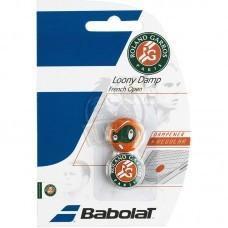 Виброгаситель Babolat Loony Damp French Open x2 (зеленый, красный)