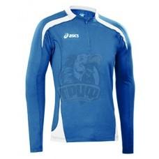 Футболка беговая женская Asics W'S Sweat Marion Lady (ярко-синий/белый)