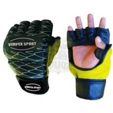 Перчатки для смешанных единоборств Vimpex Sport 1575 кожа