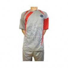 Форма футбольная Ayoun (серый/красный)