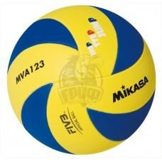 Мяч волейбольный детский Mikasa MVA123