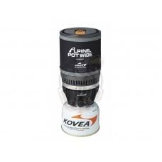Горелка газовая с кастрюлей (два в одном) Kovea Alpine Pot Wide