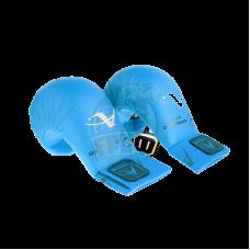 Перчатки (накладки) каратэ Arawaza WKF (синие)
