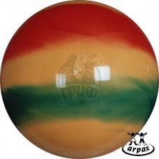 Мяч гимнастический (фитбол) Arpax 65 см с системой антивзрыв (радужный)