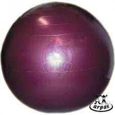Мяч гимнастический (фитбол) Arpax 75 см с системой антивзрыв (фиолетовый)