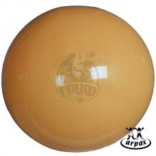 Мяч гимнастический (фитбол) Arpax 75 см с системой антивзрыв (желтый)