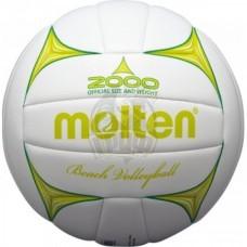 Мяч для пляжного волейбола любительский Molten BV2000-LG