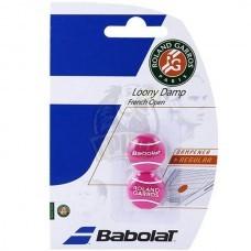 Виброгаситель Babolat Loony Damp French Open x2 (розовый)