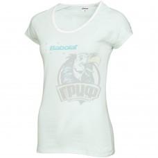 Джемпер для девочек Babolat Tee Shirt Core Girl (светло-голубой)